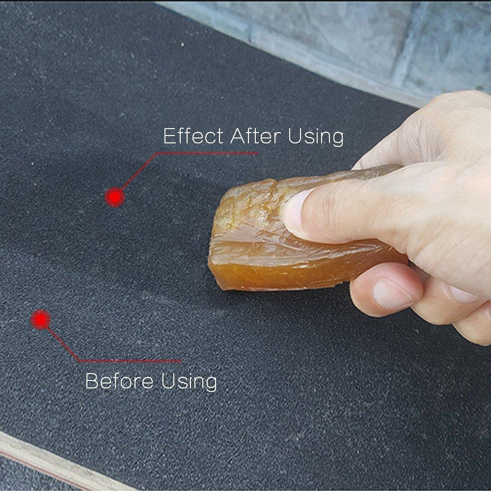 SAYSHUN Skateboard Eraser & Cleaning Eraser Rub Wipe Eraser for Skateboard(pack of 4)