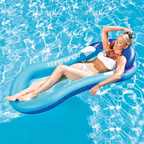 Iusun Silla hinchable para salón, interactiva, divertida piscina, flotadores para verano, al
