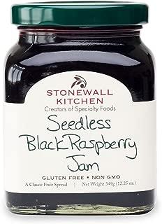 product image for Stonewall Kitchen Seedless Black Raspberry Jam, 12 ounces