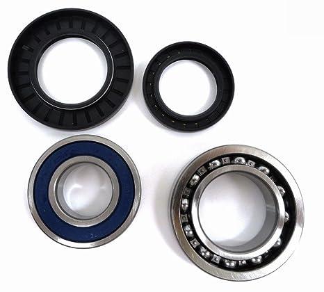 Rear Wheel Ball Bearings Seals Kit Fits YAMAHA BIG BEAR 350 YFM350 4WD 1996-1999