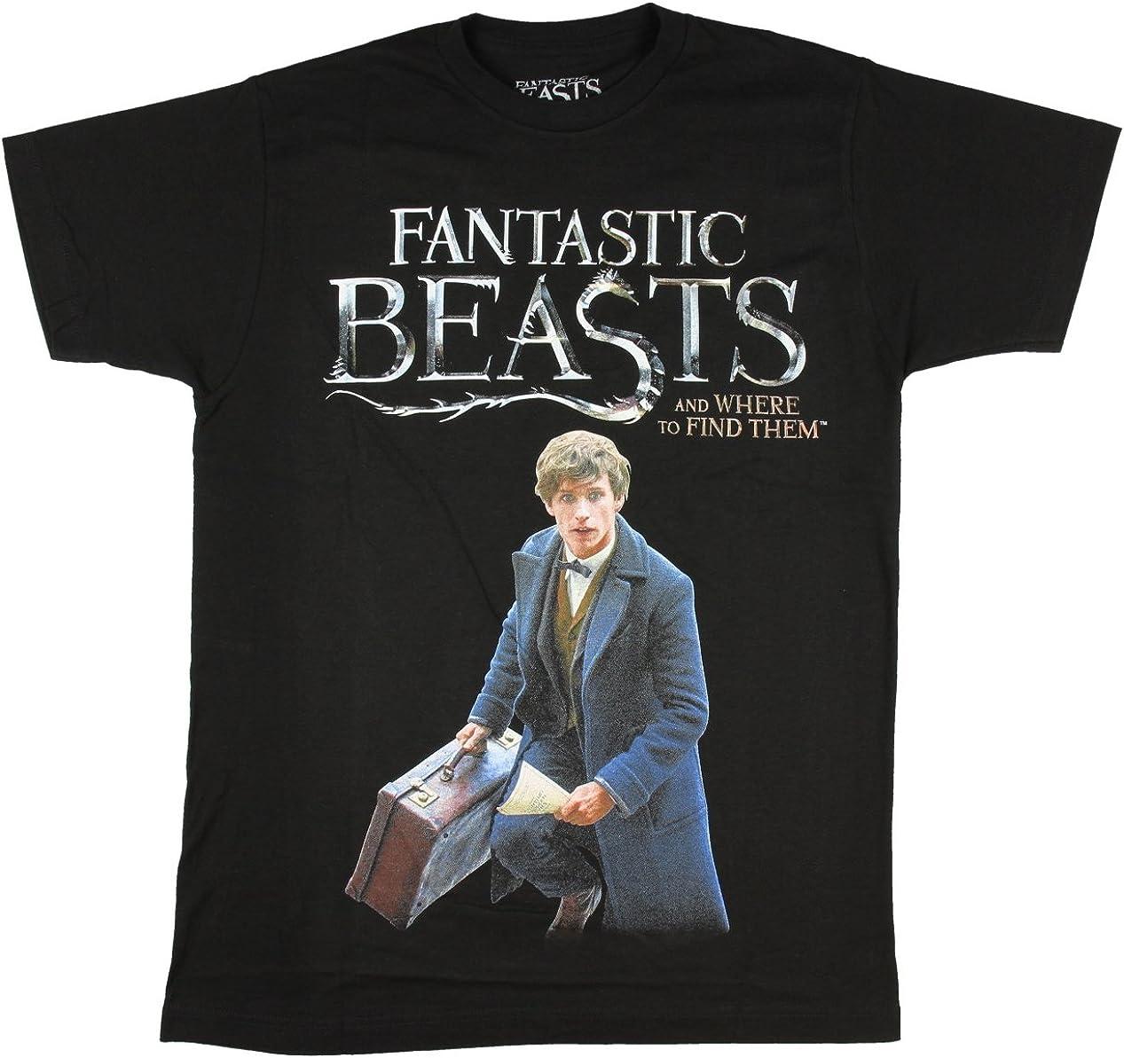 Harry Potter Fantastic Beasts Newt Scamander Shirt  S-M-XL