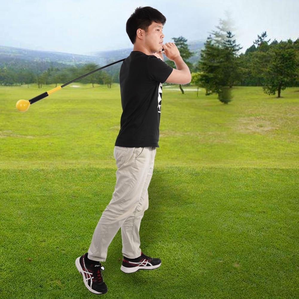 VGBEY Herramienta para Mejorar el Swing de Golf, Entrenador de Swing de Golf, Golf Club Swing Training Aid Herramienta de práctica de la Pelota de ...
