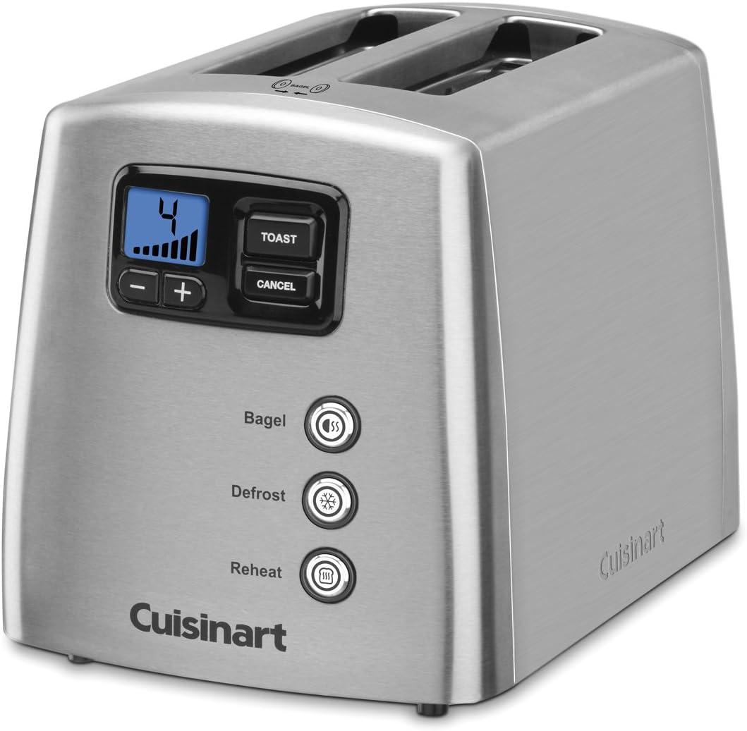 Cuisinart CPT-420FR 2 Slice Motorized Toaster Renewed