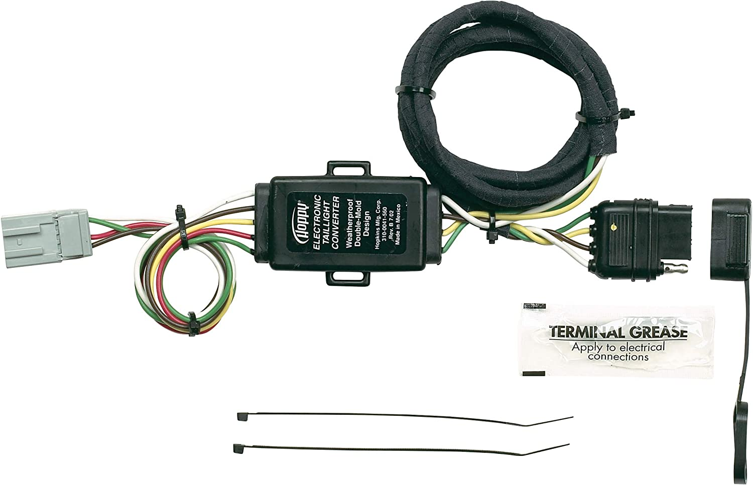 Amazon.com: Hopkins 43105 Plug-In Simple Vehicle Wiring Kit: AutomotiveAmazon.com