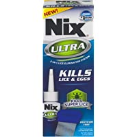 Nix Ultra 2-in-1 Lice Treatment | Pesticide Free and Non Toxic | Kills Super Lice and Eggs by Suffocation | 3.4 Fluid Ounces