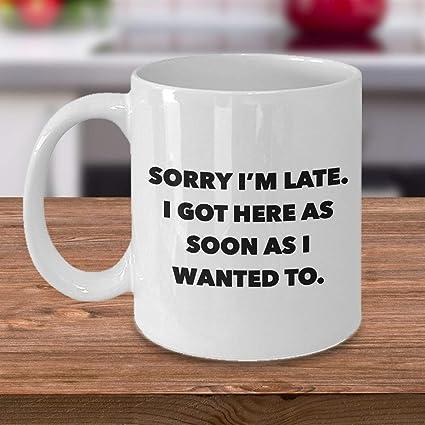 Amazon Com Funny Work Mug Office Coffee Mug I Hate Work Gifts Sorry