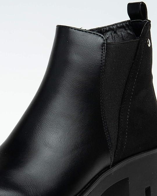 Caspar SBO082 Botines de Plataforma para Mujer: Amazon.es: Zapatos y complementos