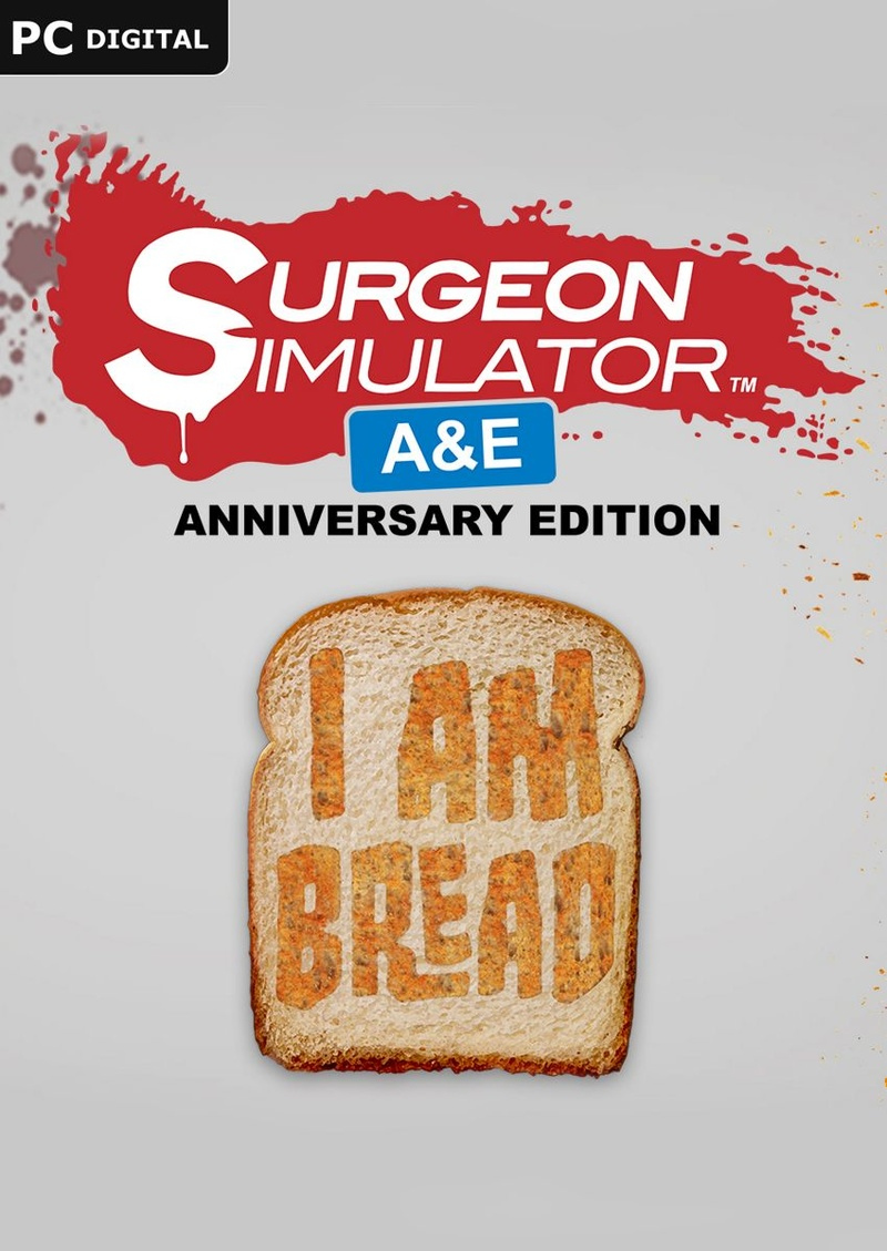 Surgeon Simulator Anniversary Edition + I am Bread Bundle [Online Game (Anniversary Bundle)
