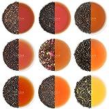 Black Tea Sampler - 10 TEAS, 50 Servings | 100% Natural Ingredients | Brew Hot, Iced, Kombucha Tea | Black Tea Loose Leaf | Tea Variety Pack & Tea Gift Set