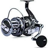 Sougayilang Spinning Reels 10000 Series Surf Fishing Reels,10+1 Stainless BB Ultra Smooth Powerful with CNC Aluminum Spool Fi