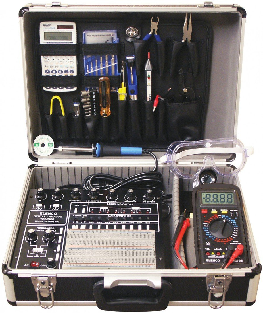 Elenco XK700TK  Digital/Analog Trainer  with Tools