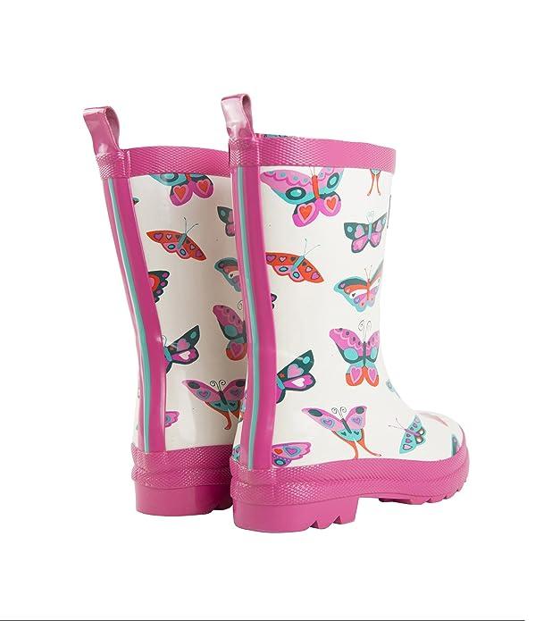 Hatley Butterflies - Botas de Agua para niñas: Amazon.es: Zapatos y complementos