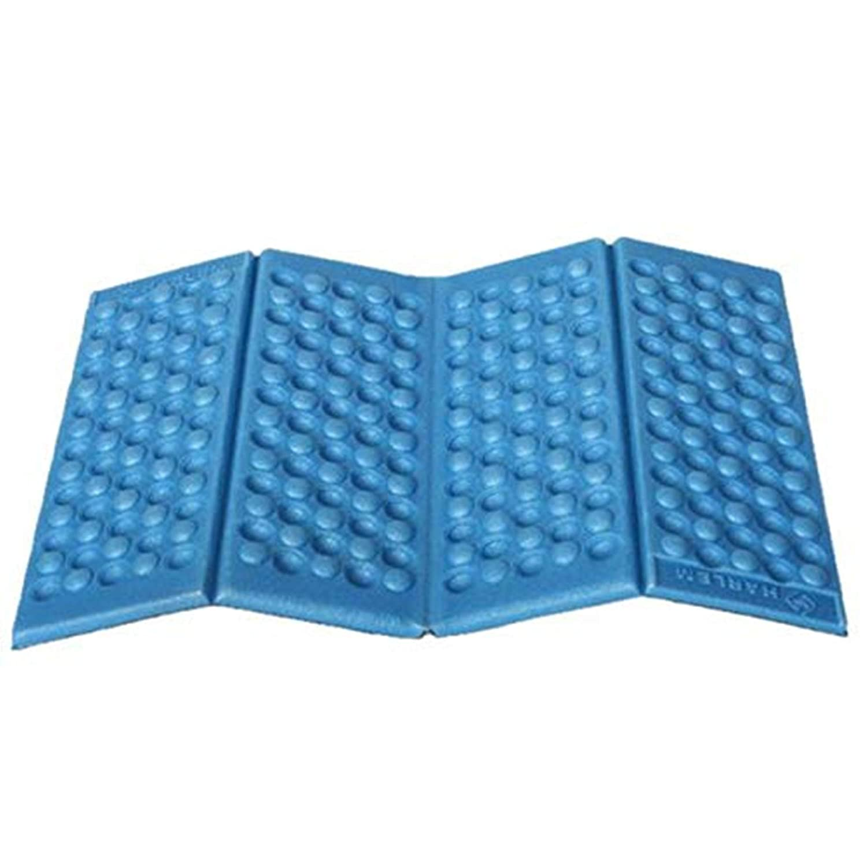 Foldable Carpet Moisture-Proof Folding EVA Foam Pads Mat Cushion Seat Camping Park Picnic Foldable 38x27CM Army Green