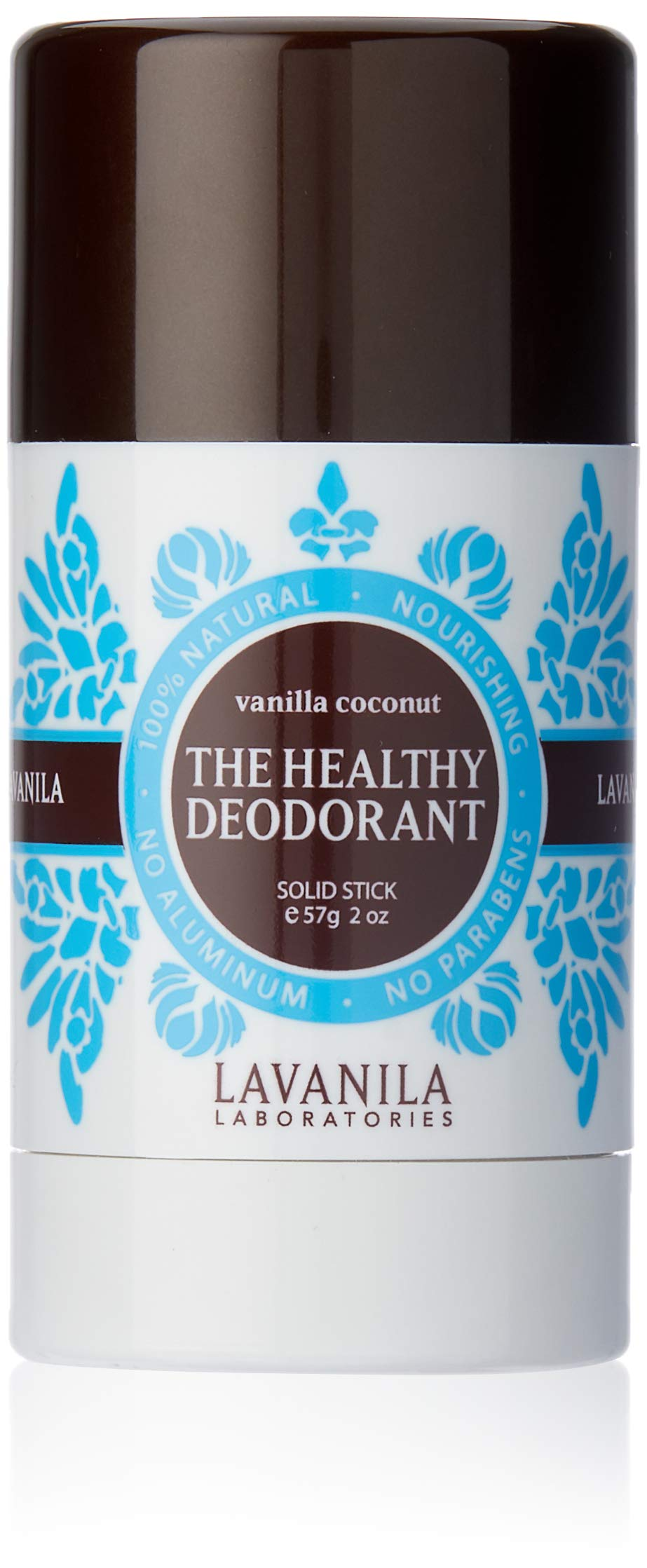 Lavanila - The Healthy Deodorant. Aluminum-Free, Vegan, Clean, and Natural - Vanilla Coconut 2 oz