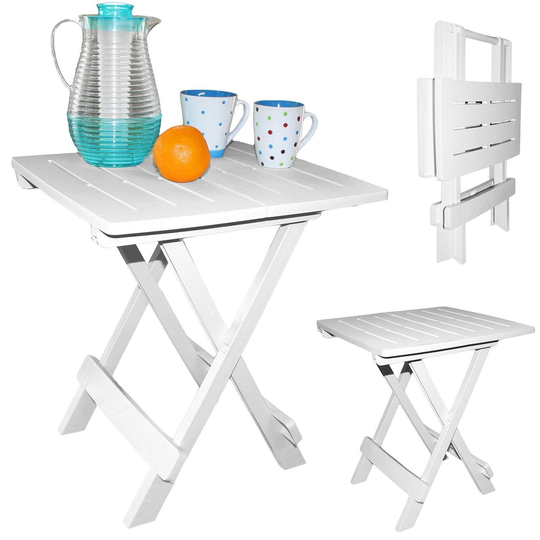 Mesa auxiliar plegable mesa mesa de camping pequeña Jardín muebles ...