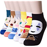 Happytree Berühmte Japanische Anime-Cartoon-Socken für Damen