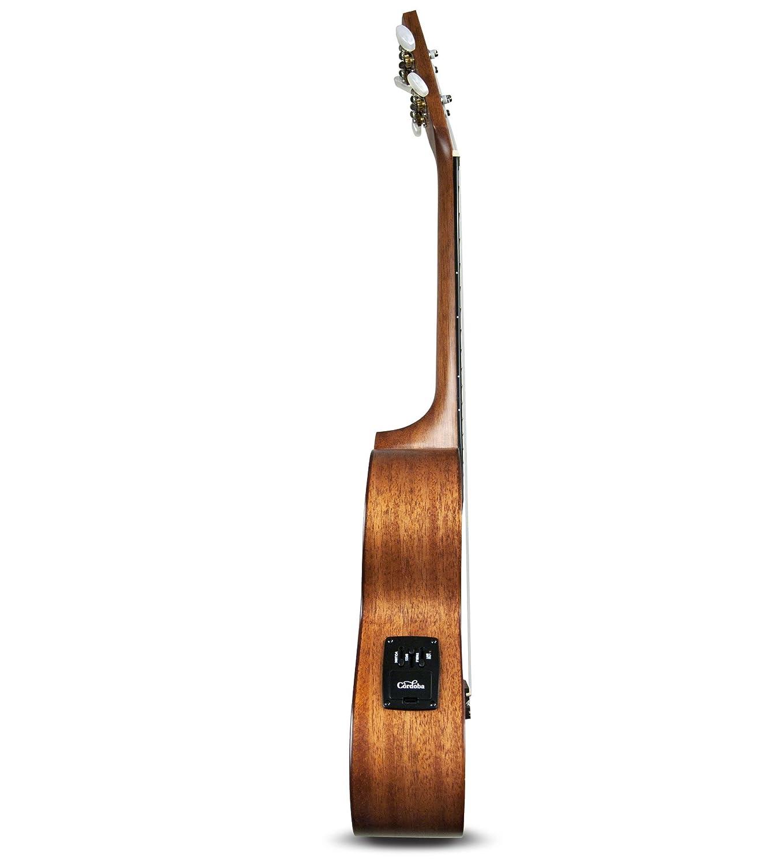 cordoba 20tm ce acoustic electric tenor ukulele with