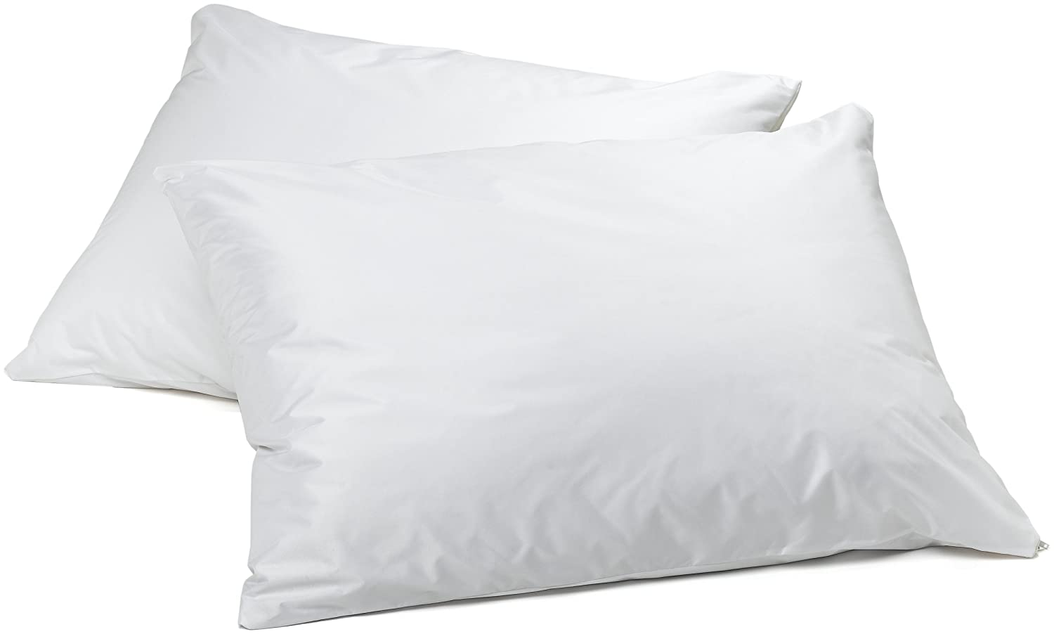 AllerEase Allergen Barrier Pillow Protectors – Waterproof Zippered Pillow Protectors, Allergist Recommended, Prevent Collection of Dust Mites and Other Allergens, King Sized, Set of 2 Aller-Ease 4758