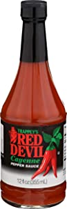 Trappey's Red Devil Sauce Hot, 12 Ounce