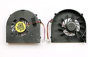 "Todiys CPU Cooling Fan for Dell Inspiron 15.6"" M5010 N5010 M501R Series MF60120V1-B020-G99 23.10377.001 23.10378.001 DFB451005M20T/F91G"