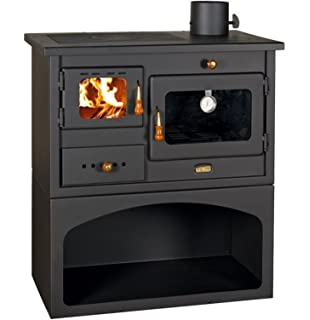 PRITY 1 Estufa de leña 10 kW de hierro fundido, calidad superior