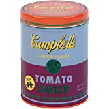 """Galison Andy Warhol Soup Can Puzzle, Red Violet, 300piece 12"""" x 20'' – Puzzle Based on Andy Warhol Tomato Soup Can Painting –"""