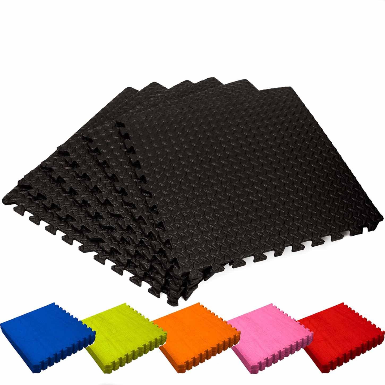 Alfombrilla gimnasio / Esterilla protectora para suelo »PuzzleUp« / Puzzle mat esterilla para deportes