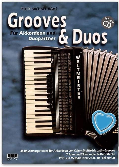 Grooves And Duos para acordeón y Duo Partner – Autor: Peter ...