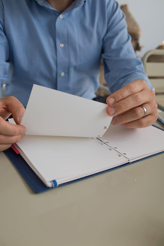 Filofax A5 Nachfüllung für Notebook liniertes Notizpapier