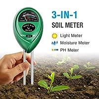 Atree Soil pH Meter, 3-in-1 Soil Tester Kit
