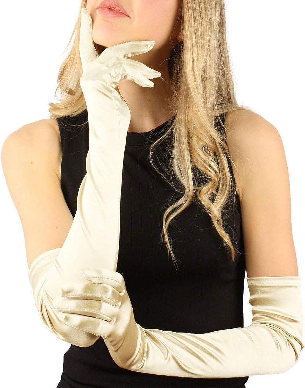 Segbeauty Satin Fingerhandschuhe