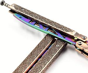D&Kmall Multifunctional Bottle Opener BaliBottle Opener Ruler(Copper)