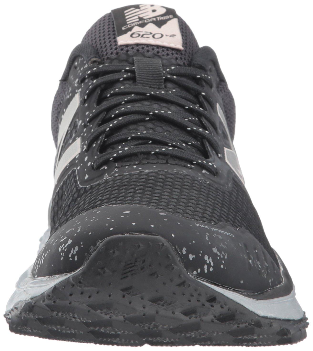 New Balance Women's W620v2 Trail Running Shoe B01MQZQJQD 5.5 B(M) US|Black/Silver
