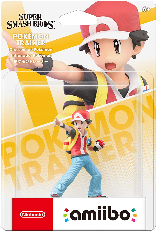 Amazon.com: Nintendo Amiibo - Pokemon Trainer - (Super Smash ...