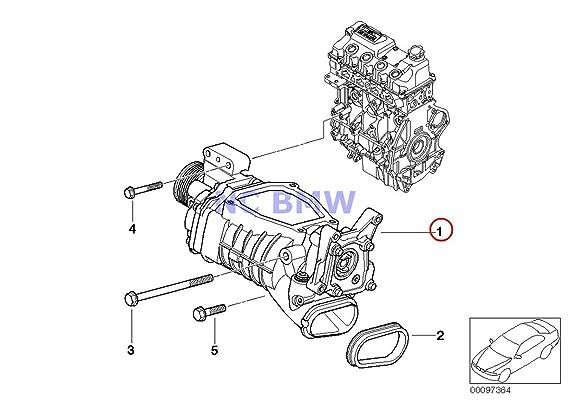 Amazon Com Bmw Mini Genuine Engine Super Charger Supercharger
