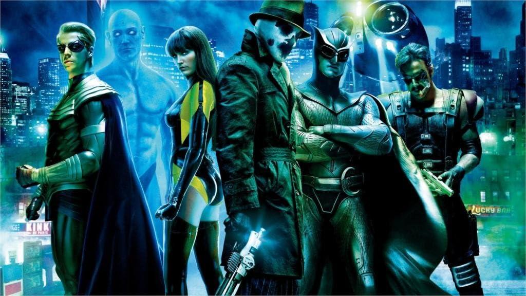 Twenty-three Movies Watchmen Rorschach Dr. Manhattan The Comedian Fabric Canvas Poster Print 24X36Inch
