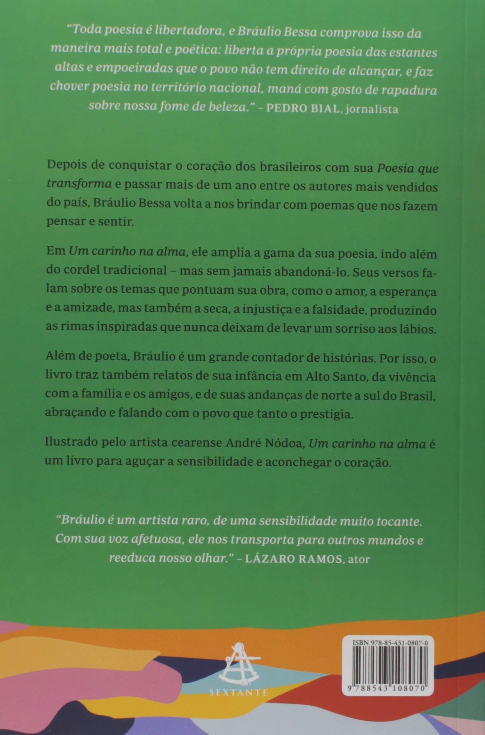 Amazoncom Um Carinho Na Alma Em Portugues Do Brasil