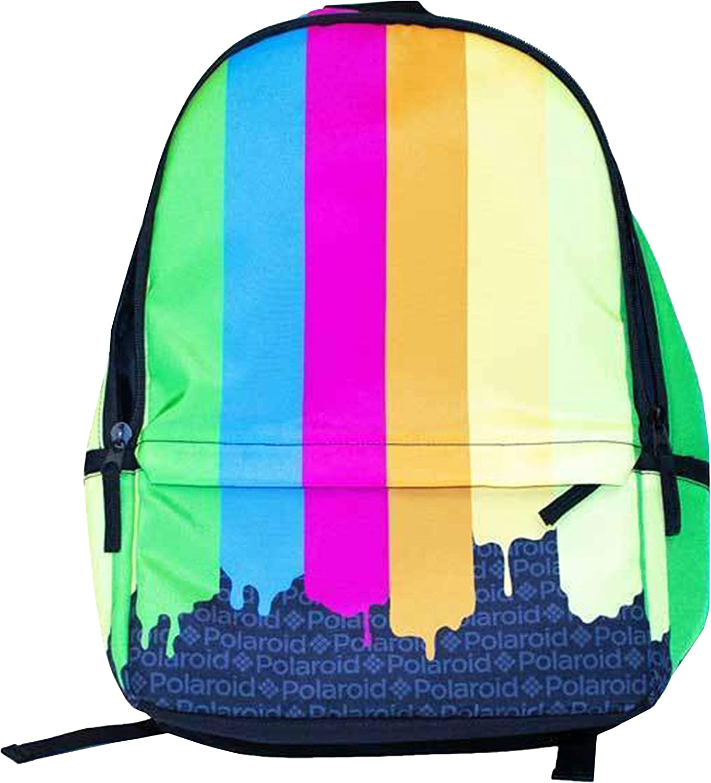 H3 Sportgear Polaroid Color Drip Backpack
