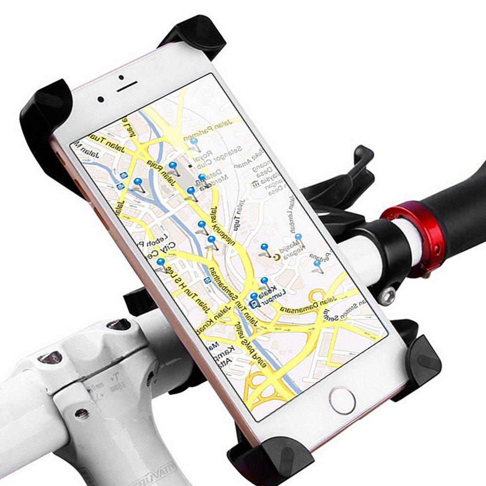"""'Vélo pour téléphone smartphone Support Support vélo réglable pour téléphone portable de 3,5""""à 6,5iPhone 5/6/7/Plus/Samsung Galaxy S5/S4/S3etc."""