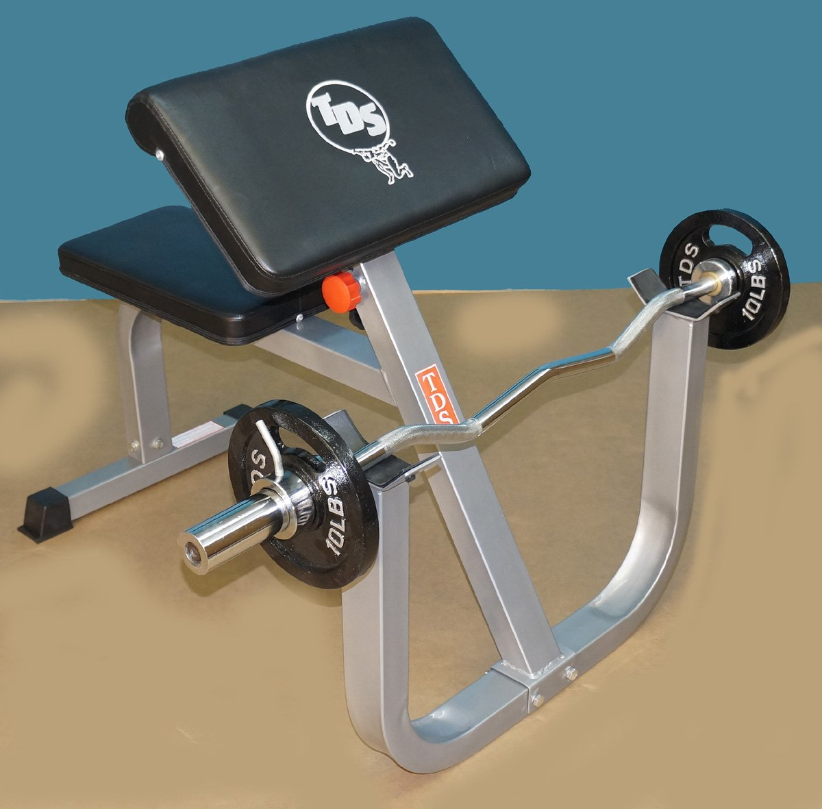 TDS Seated Arm Curl Unit (Preacher Curl Unit) by TDS