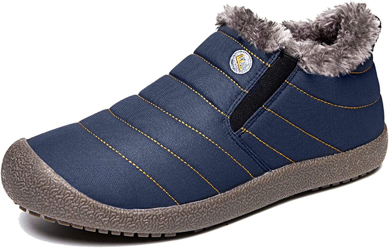 EXEBLUE Enly Winter Snow Boots Slip-on