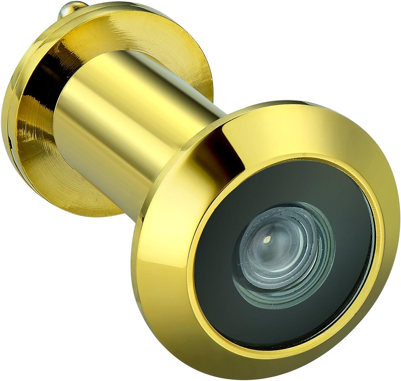 Mirilla de puerta para puertas de 3,49 cm a 5,5 cm UL 220 grados lat/ón Togu 3016/ng