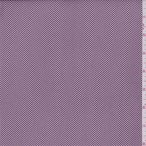 Plum Fishnet Mesh, Fabric by The -