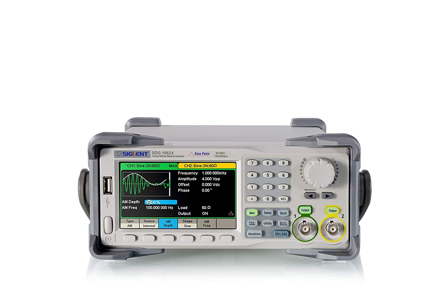 Siglent Technologies SDG1062X Series Dual-Channel Function//Arbitrary Waveform generators