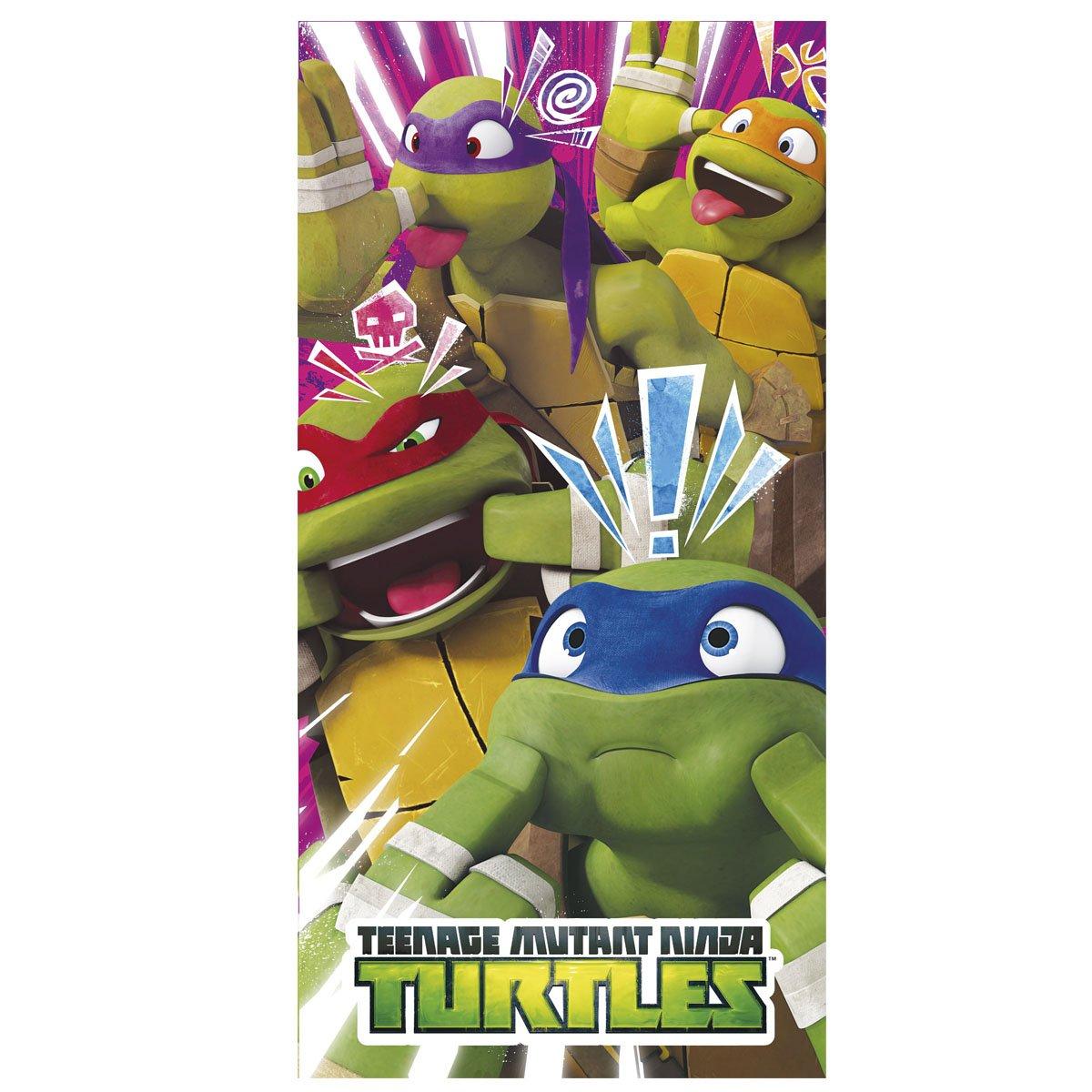 Toalla Tortugas Ninja Faces algodon: Amazon.es: Juguetes y ...
