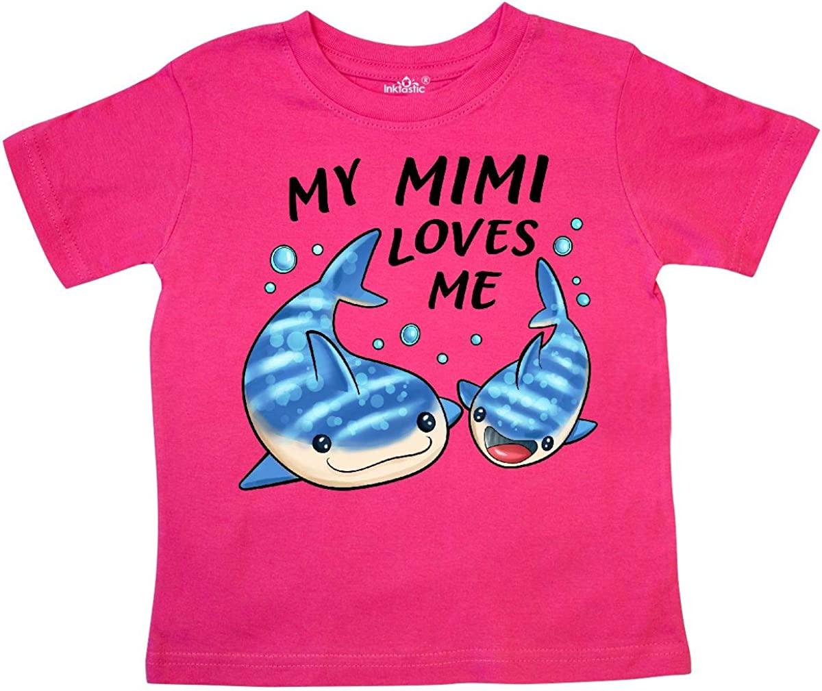 Toddler//Kids Long Sleeve T-Shirt Im Going to Love Sharks When I Grow Up Just Like My Mimi