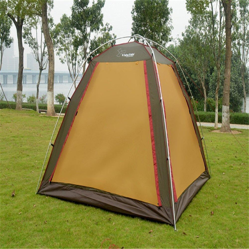 耐久性のある 屋外または家族のキャンプ旅行に適したテレスコピックテント。   B07NYNYGFM