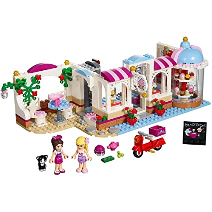 Amazon Lego Friends Heartlake Cupcake Caf 41119 Toy For 6 Year
