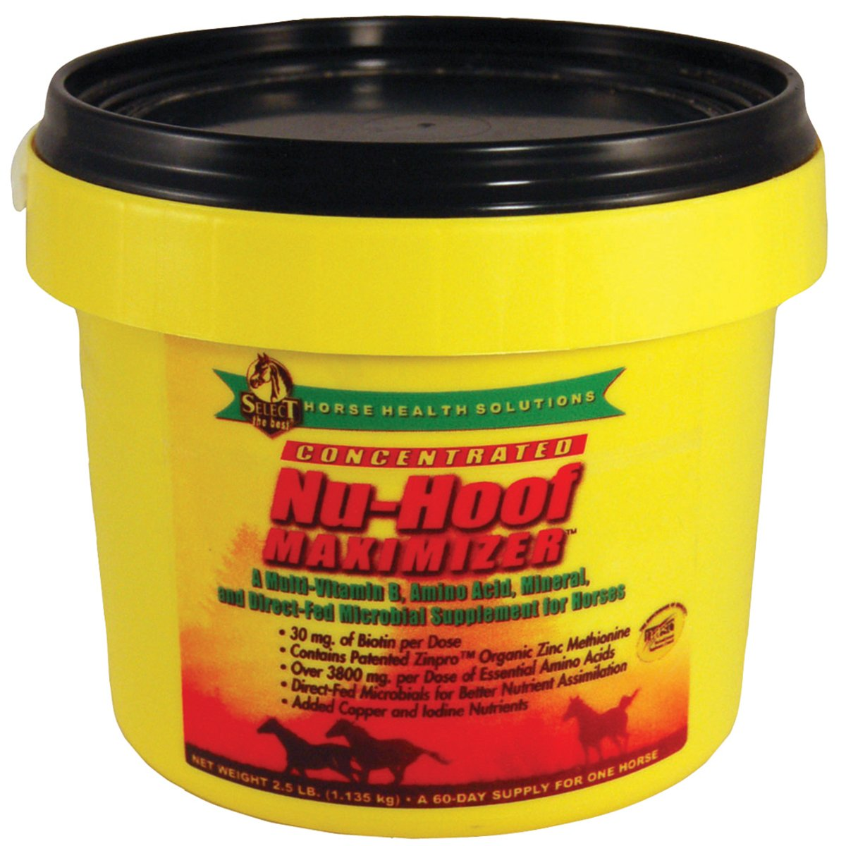 Select the Best Nu-Hoof Maximizer 2.5 lb by Select The Best