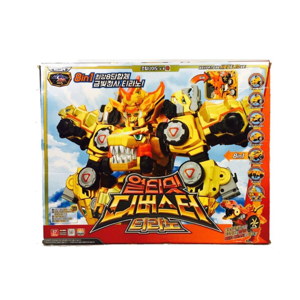 TUBAn Dino core Season 3 Ultimate D-Buster TYRANNO Transformator Roboter Spielzeug